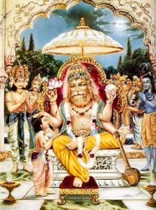 Vishnu lion avatar