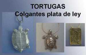 COMPRAR Tortuga colgante de plata online